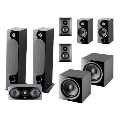 Focal Chora 7.2 Channel Home Theater System (Black)