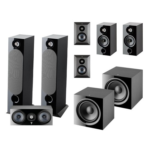 Focal Chora 7.2 Channel Home Theater System (Black) - image 1 of 4