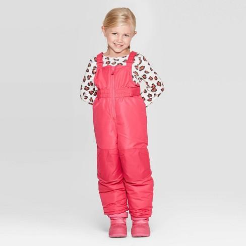 Toddler Girls' Snow Bib - Cat & Jack™ - image 1 of 3