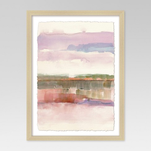 "Framed Watercolor Landscape 18""x24"" - Project 62™ - image 1 of 5"