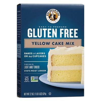 Baking Mixes: King Arthur Gluten Free Yellow Cake Mix