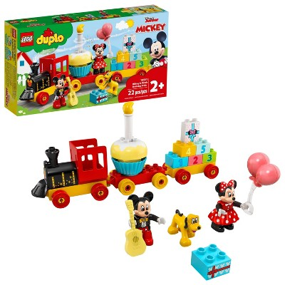 LEGO DUPLO Disney Mickey & Minnie Birthday Train Kids' Birthday Number Train Playset 10941