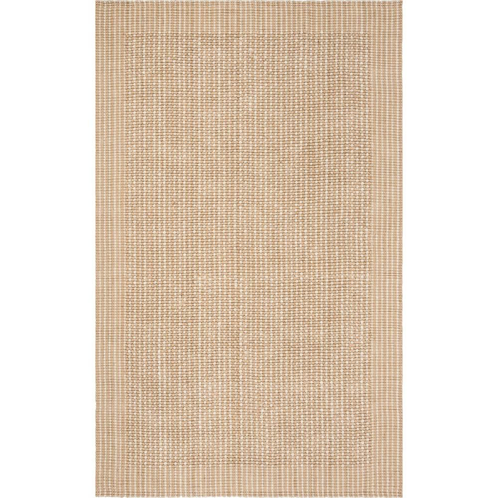 5'X8' Polka Dots Woven Area Rug Ivory/Beige - Safavieh, White