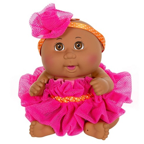 Cabbage Patch Kids Basic Tiny Newborn Scrubby Time Doll Pink - image 1 of 3