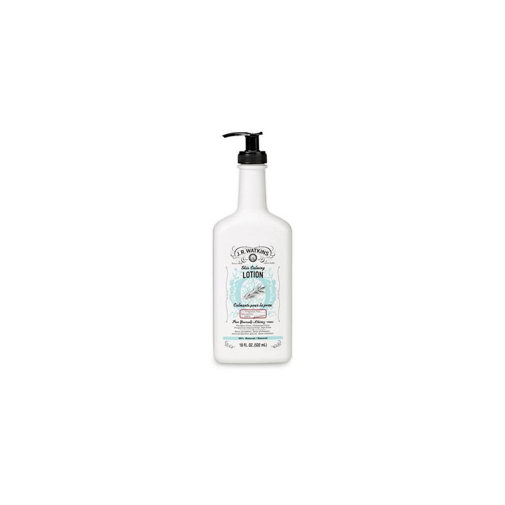 Image of J.R. Watkins Skin Calming Lotion Unscented - 18oz