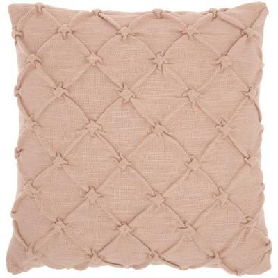Pin Tuck Throw Pillow - Kathy Ireland Home