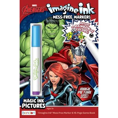 Avengers Digest Imagine Ink Book