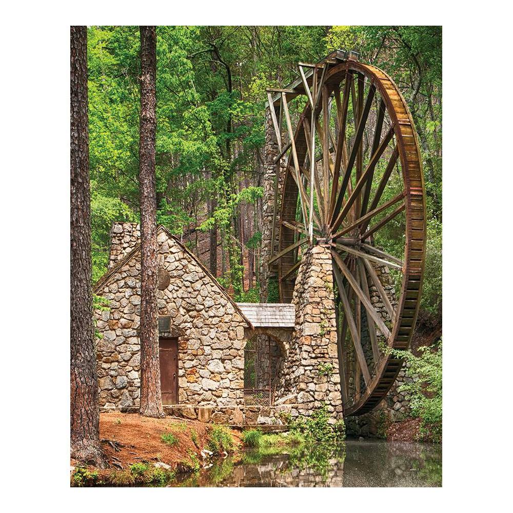 Springbok Water Wheel Jigsaw Puzzle 36pc