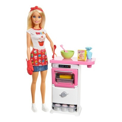 Barbie Careers Bakery Chef Doll And Playset by Barbie
