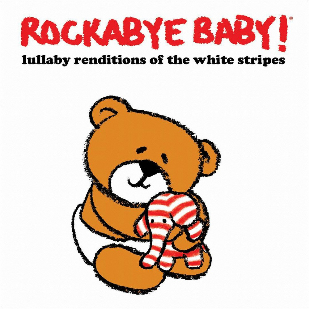 Various - Rockabye Baby:White Stripes Lullaby R (CD)