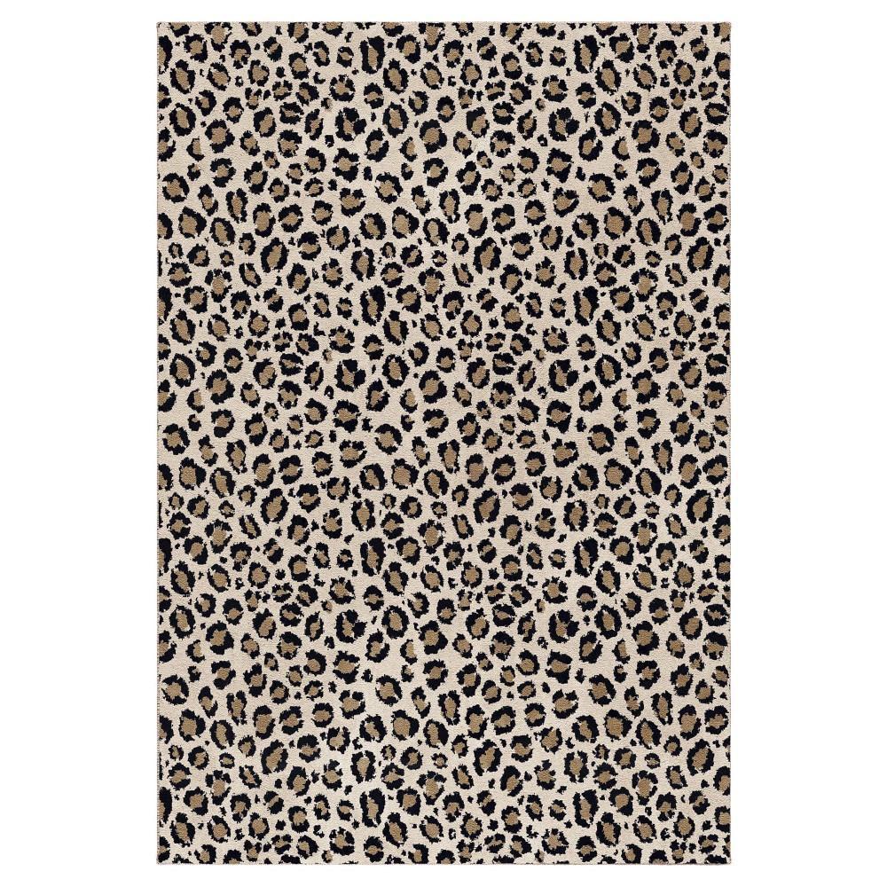 Snow Leopard Rug - (7'10