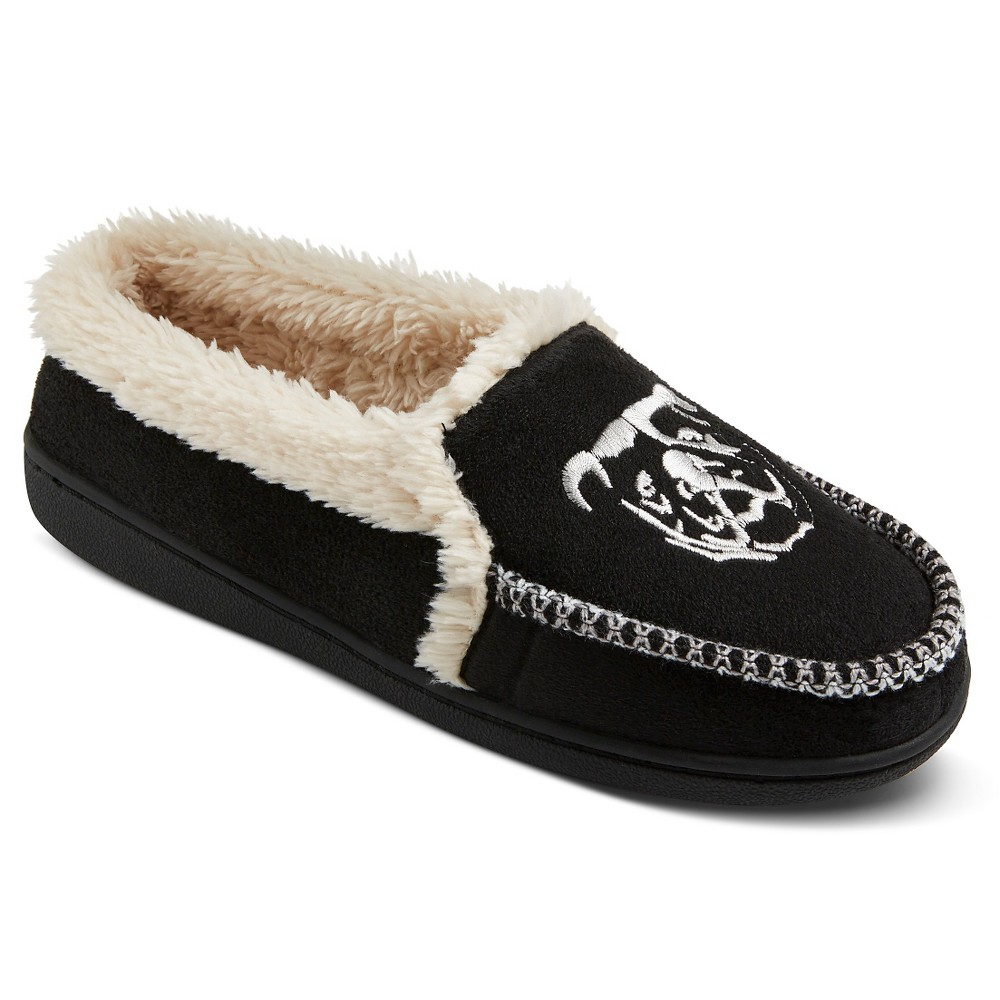 Men's Ugly Me London Moccasin Slippers - Black XL(13)