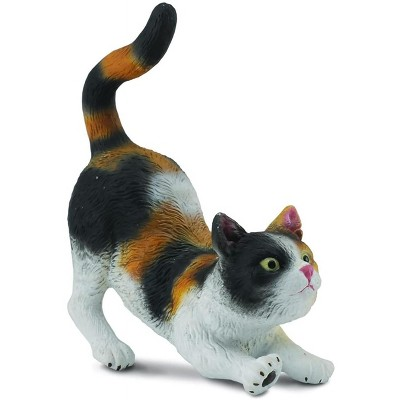 Breyer Animal Creations CollectA Cats & Dogs Collection Miniature Figure | 3-Color House Cat