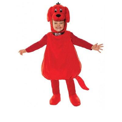 Clifford Clifford The Big Red Dog Deluxe Toddler Costume