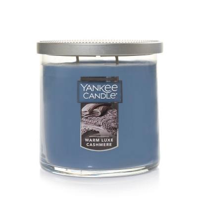 12.5oz Lidded Glass Jar 2-Wick Warm Luxe Cashmere Candle - Yankee Candle