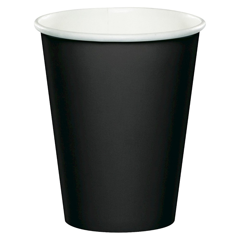 24ct Black Disposable Cups Price