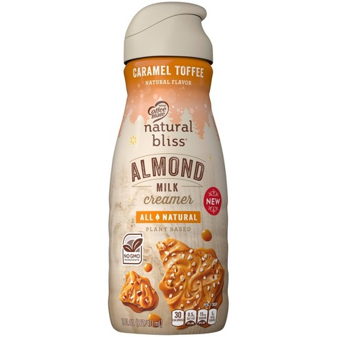Coffee Mate Natural Bliss Caramel Toffee Almond Milk Coffee Creamer - 16 fl oz - image 1 of 4