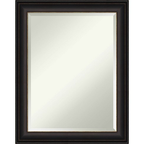 22 X 28 Trio Oil Rubbed Framed Bathroom Vanity Wall Mirror Bronze Amanti Art Target