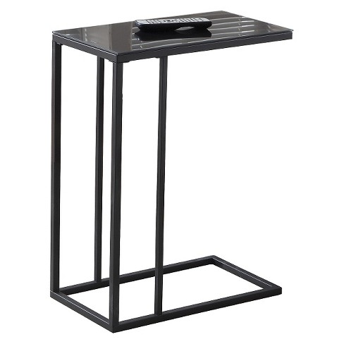 Accent Table with Mirror Top - Black - EveryRoom - image 1 of 2