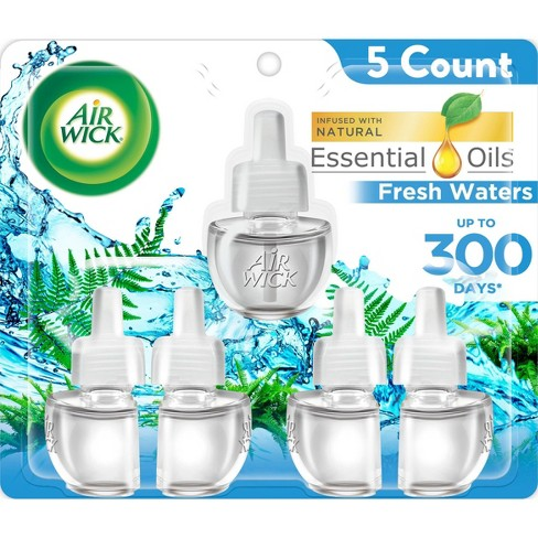 Air Wick Fresh Waters Scented Oil Refills - image 1 of 4