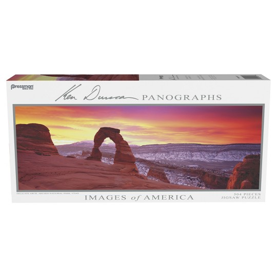 Pressman Images Of America: Delicate Arch Panoramic Puzzle 504pc image number null