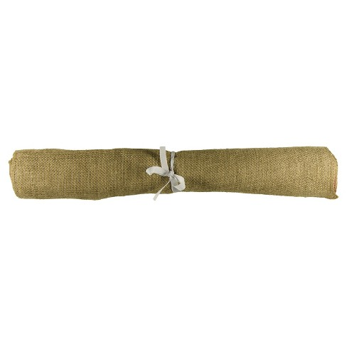 Burlap Table Runner - Spritz™ - image 1 of 1