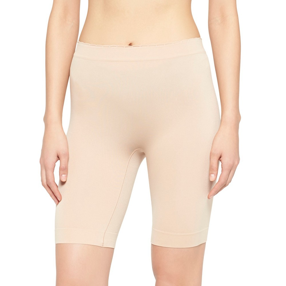 Jky by Jockey Women's Slipshort, Size: Large, Beige