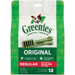 Greenies Regular Original Dental Dog Treats