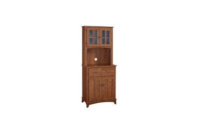 Wonderful Traditional Microwave Cabinet   Oak   Home Source Industries