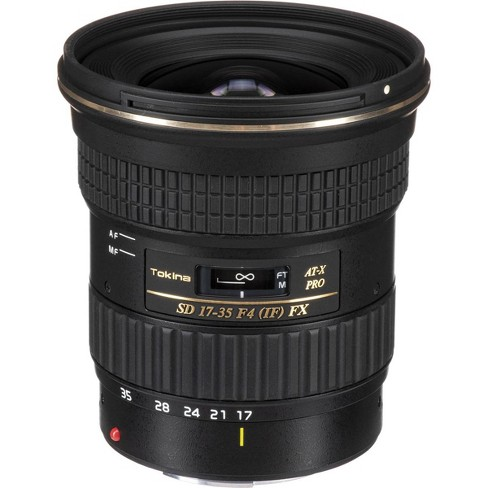 Tokina 17-35mm F4.0 AT-X Pro FX Lens for Canon EOS Digital SLR Cameras - image 1 of 4