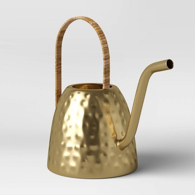 Small Iron Watering Can Gold - Opalhouse™