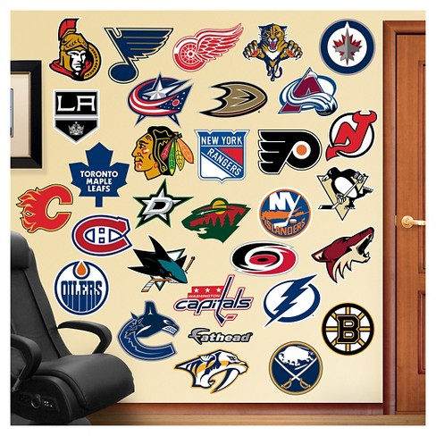 NHL All Team Logo Fathead Wall Decal Set - image 1 of 1