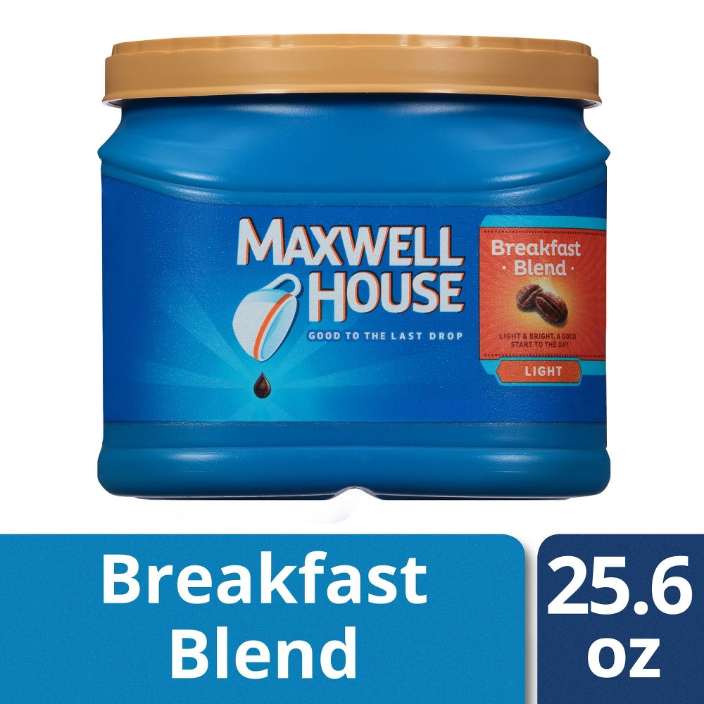Maxwell House Breakfast Blend Light Roast Ground Coffee 29 3oz