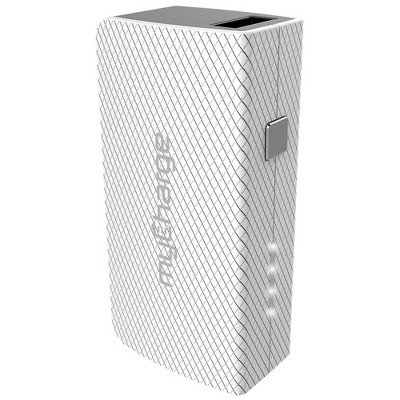 myCharge Amp Mini Portable Charger - White