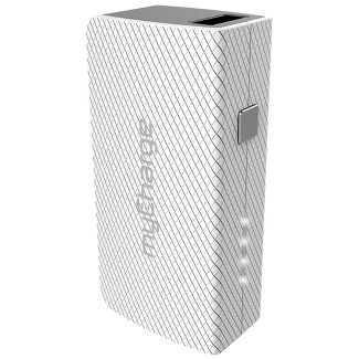 myCharge Amp Mini 2600mAh Portable Charger - White