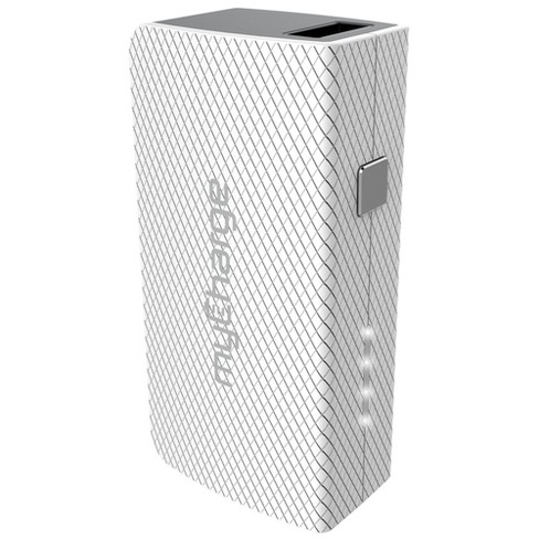 myCharge Amp Mini Portable Charger - White - image 1 of 3