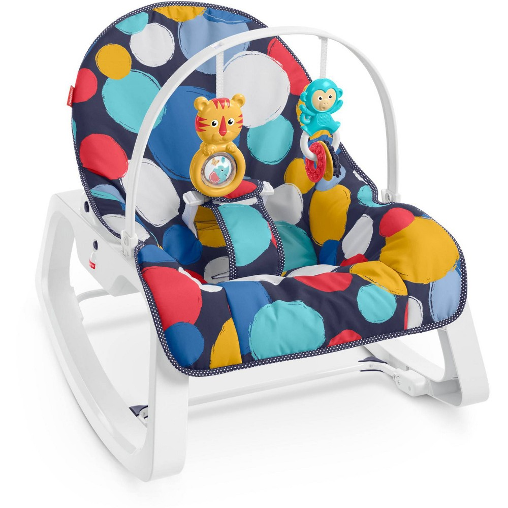Image of Fisher-Price Infant-to-Toddler Rocker - Bubble Up
