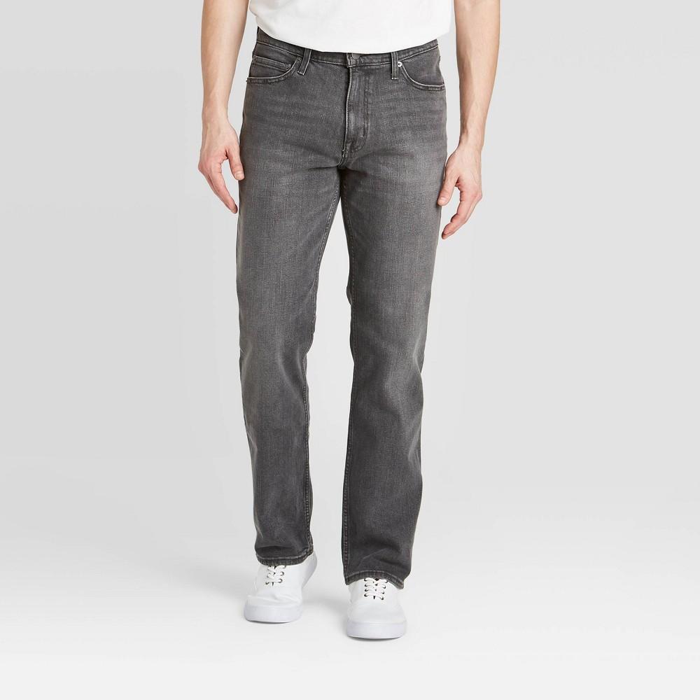 Men 39 S Straight Jeans Goodfellow 38 Co 8482 Black 33x32