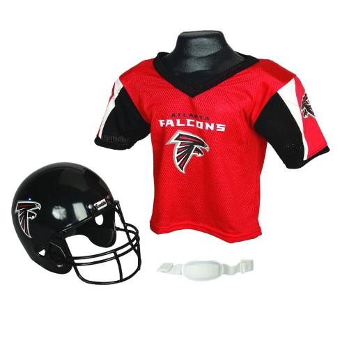 los angeles 9117e 9838b Franklin Sports NFL Team Helmet and Jersey Set - Ages 5-9 - Atlanta Falcons