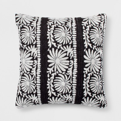 Black Mallorca Euro Throw Pillow - Opalhouse™