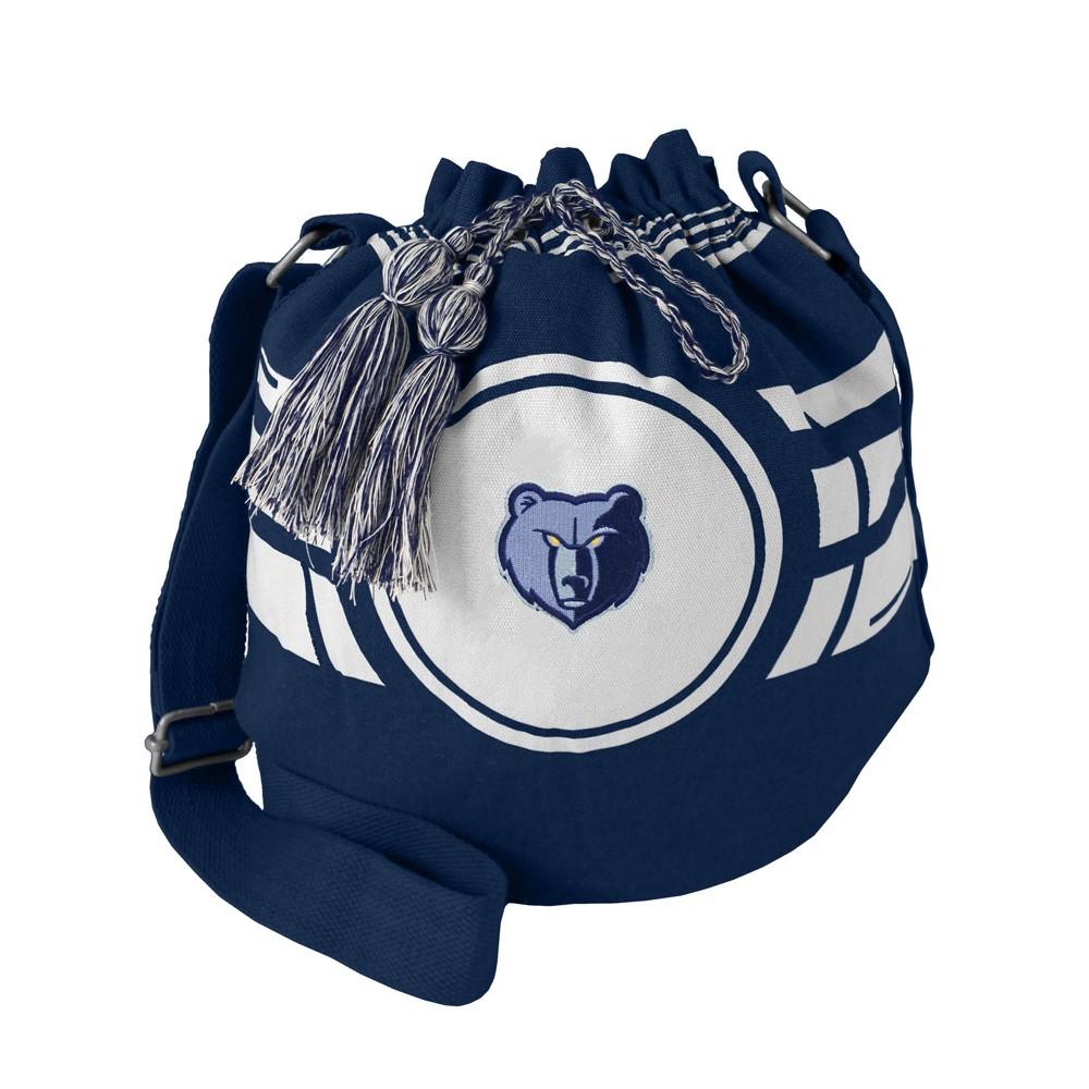 NBA Memphis Grizzlies Ripple Drawstring Bucket Bag, Adult Unisex