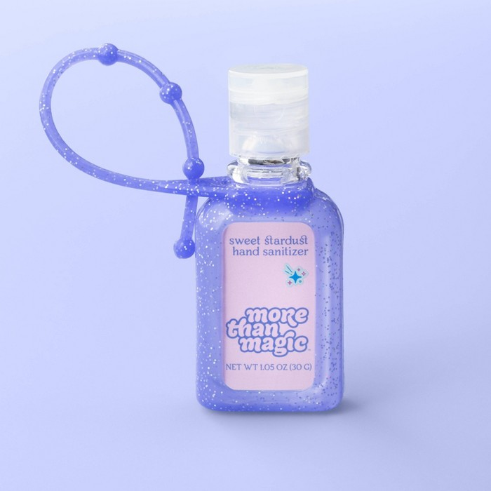 Hand Sanitizer & Carrier - 1.05oz - More Than Magic™ Sweet Stardust : Target