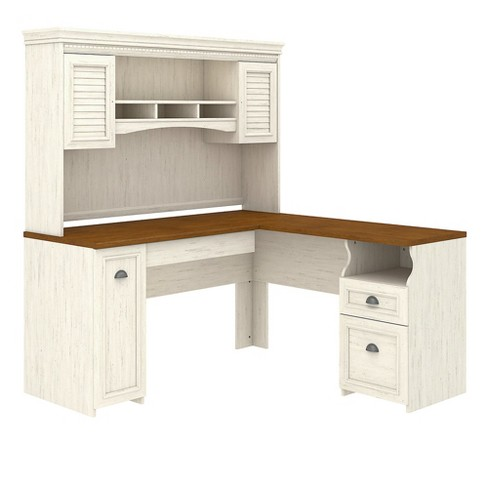 Bush Furniture Fairview L Shaped Desk With Hutch In