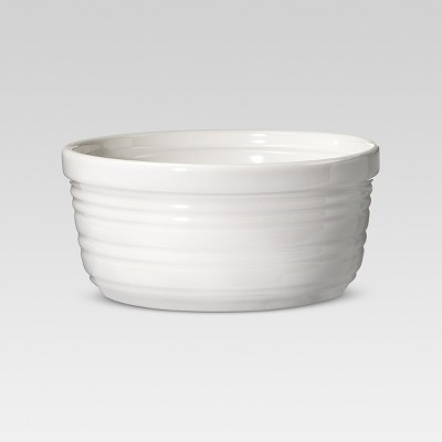 Stripe Ramekin Set of 8 Porcelain - Threshold™