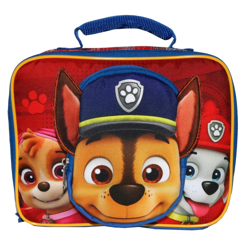 Image of Paw Patrol Perfect Lunch Tote - Red
