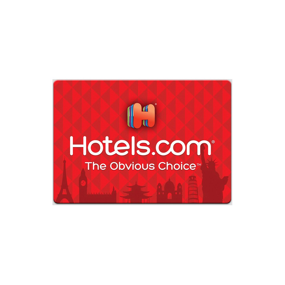 Hotels.com Gift Card (Email Delivery) Hotels.com Gift Card (Email Delivery)