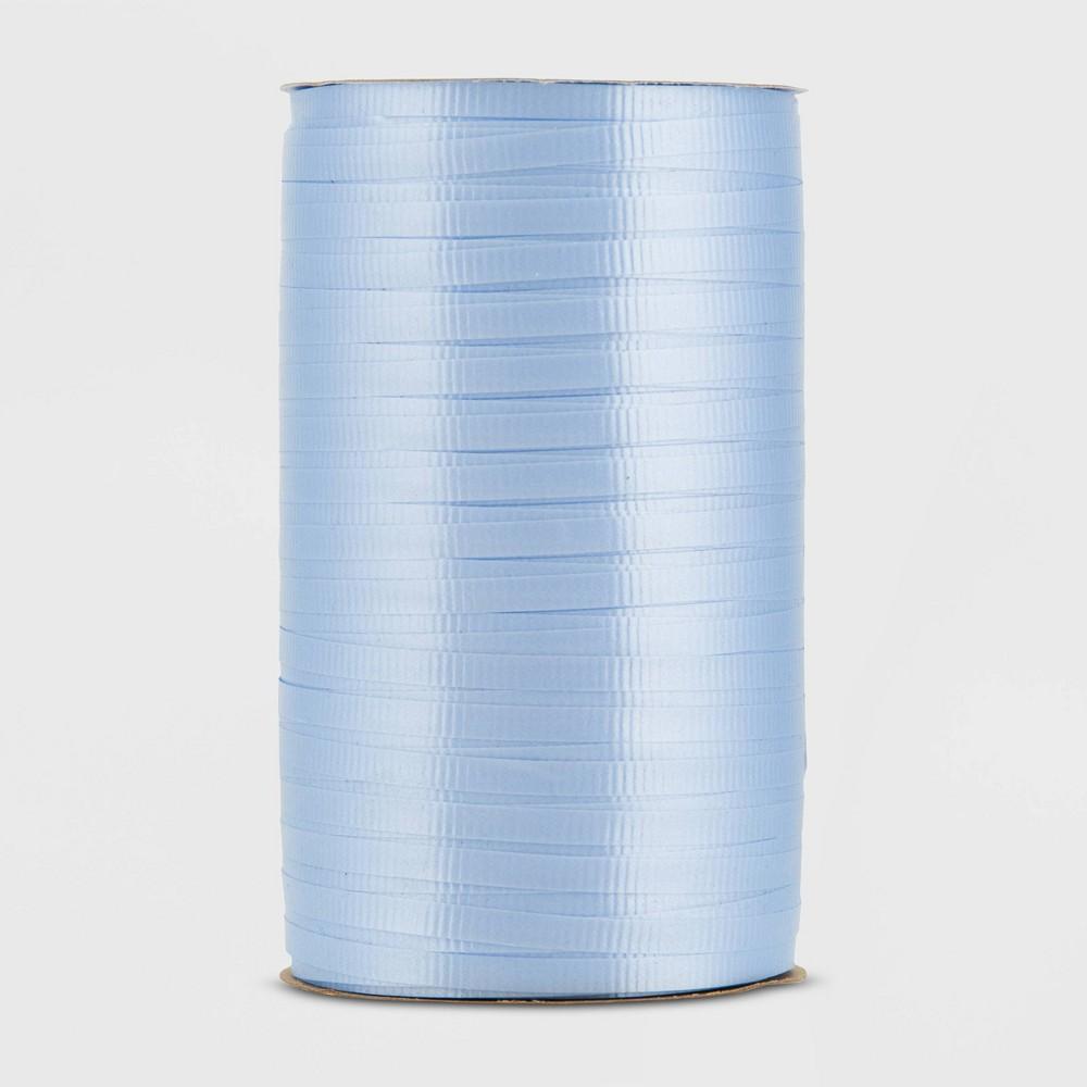 Curl Ribbon Light Blue Spritz 8482