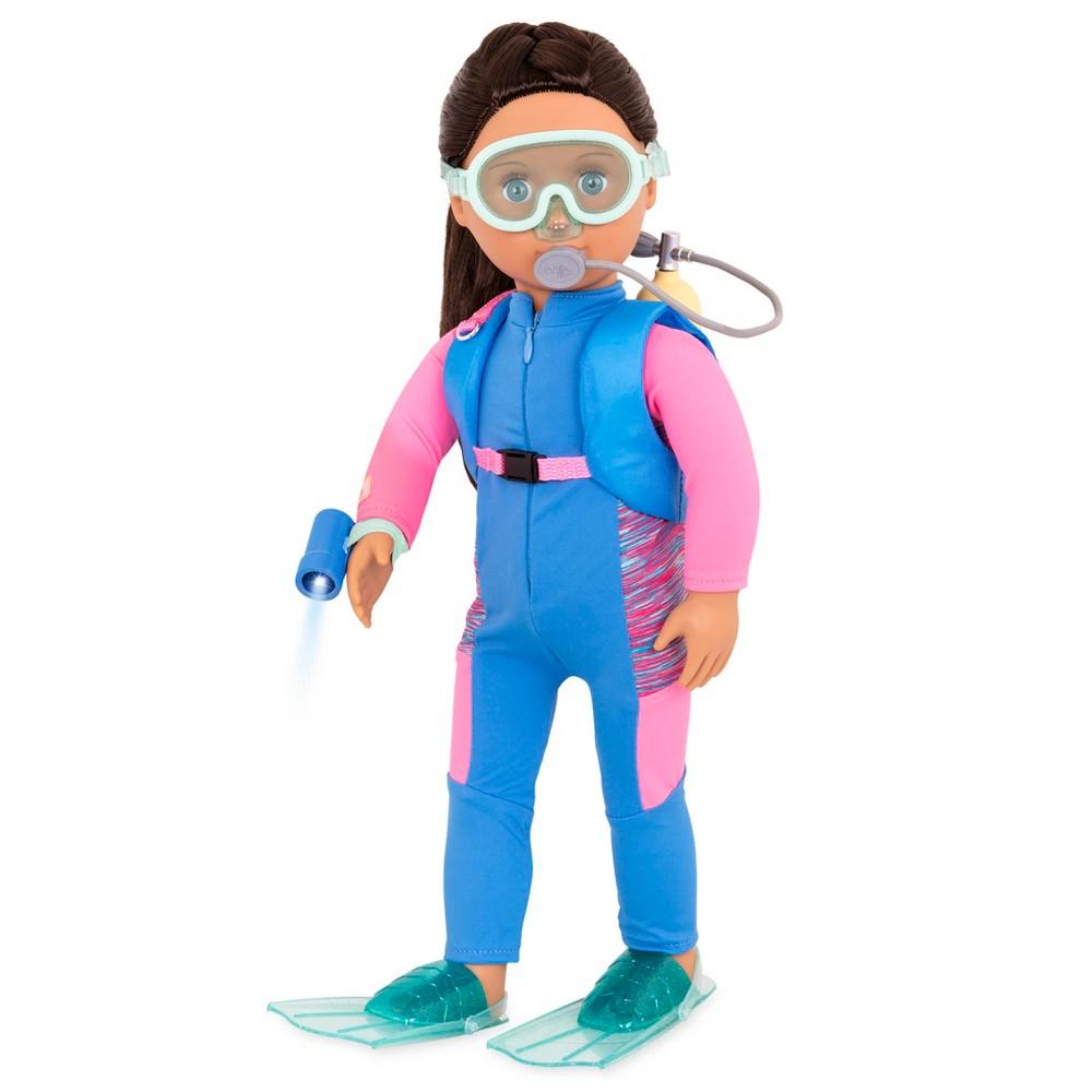 Our Generation 18 Professional Marine Biologist Doll - Annika