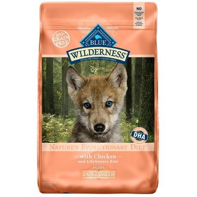 Dog Food: Blue Buffalo Wilderness Puppy Large Breed