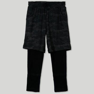 Afton Street Toddler Boys' 2pc Layering Pants - Black 12M